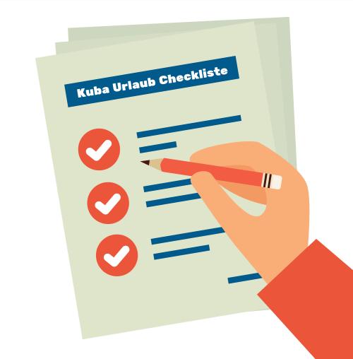 Checkliste für den Kubaurlaub